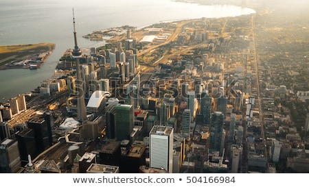 Aerial view of Toronto  Stock photo © benkrut