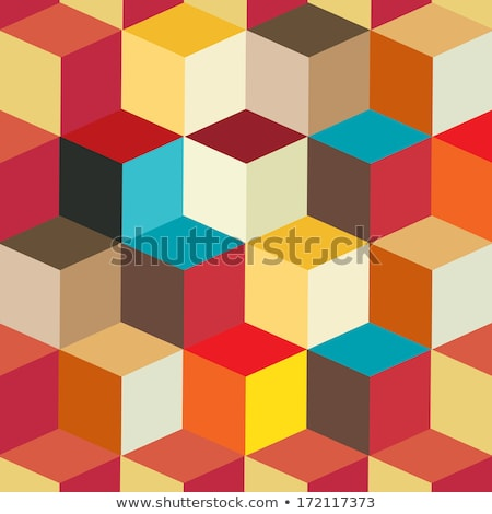 colorful cubic vector background Stock photo © get4net