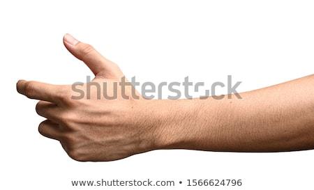 Man hand grab Stock photo © fuzzbones0
