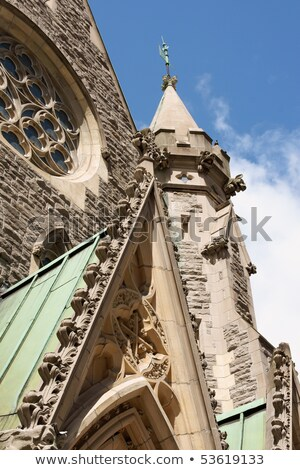 Detail from Christ Church Cathedral in Montreal Stock photo © aladin66
