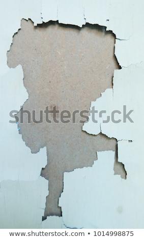 青 塗料 ピール テクスチャ 詳細 都市 ストックフォト © stevanovicigor