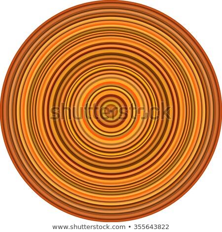 Concentrico tubi multipla arancione Foto d'archivio © Melvin07