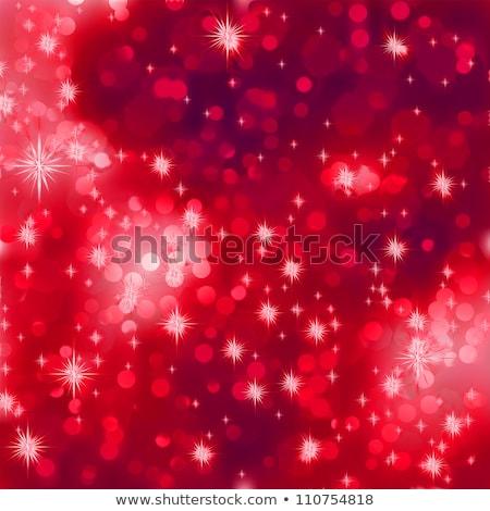 Beige background with christmas balls. EPS 8 Stock photo © beholdereye