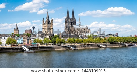 panorama of Cologne  Stock photo © meinzahn