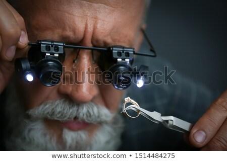 Jewelers Tweezers Stock photo © AlphaBaby