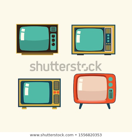 seventies tv Stock photo © nicemonkey