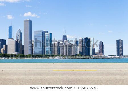 pad · achtergrond · gebouwen · stedelijke · architectuur - stockfoto © romvo