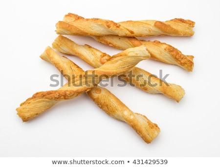 Puff Pastry Straws Stock photo © Digifoodstock