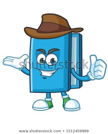vector cowboy book stock photo © dashadima