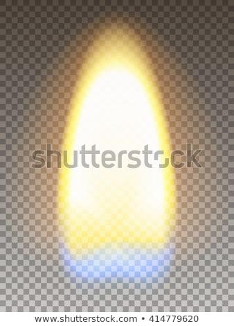 Realistic burning match Stock photo © pakete