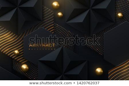 抽象的な ポリゴン 三角形 在庫 ベクトル ストックフォト © punsayaporn