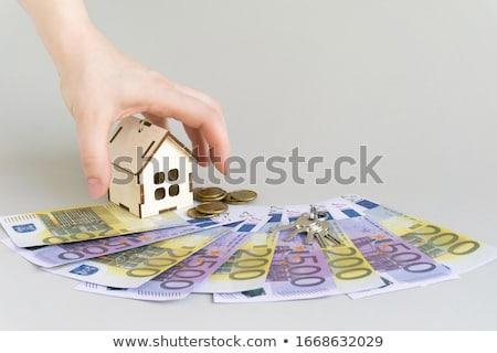 euro · euro · bankbiljetten · twee · honderd · geïsoleerd - stockfoto © imaster