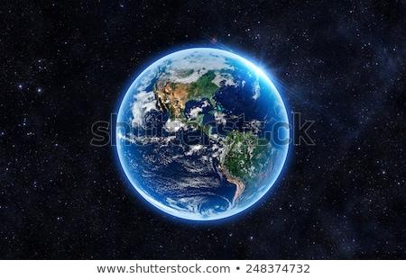 Earth glow Stock photo © orla