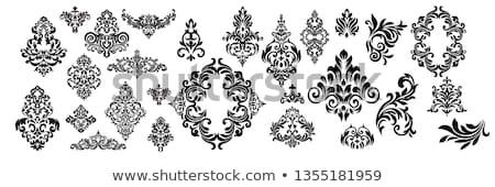 Set of Oriental Abstract Elements Stock photo © Genestro