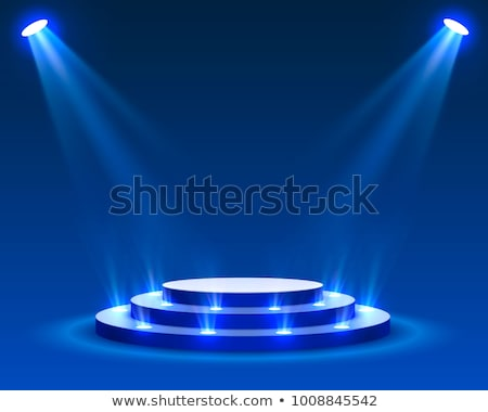 Studio lumières stade podium fond chambre Photo stock © SArts