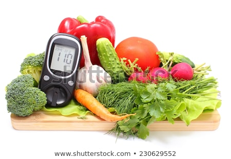 Diabetes Concept On Wooden Desk Stock photo © AndreyPopov