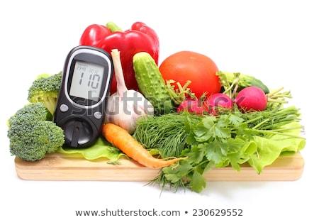 diabetes concept on wooden desk stock photo © andreypopov