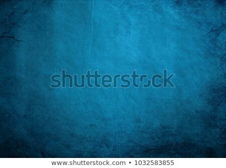 Blue grunge background. Blank aged blue paper background, vertic Stock photo © pashabo