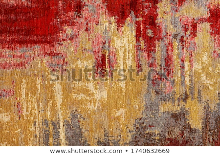 Closeup of persian carpet Stock photo © homydesign