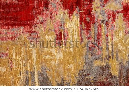 closeup of persian carpet stock photo © homydesign