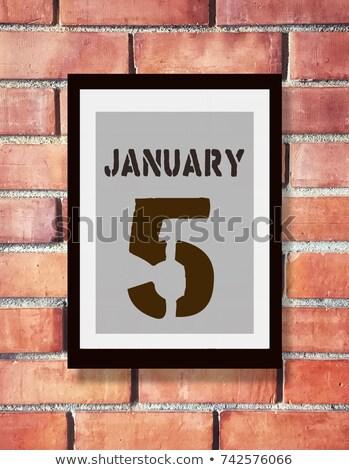 5th January Stock photo © Oakozhan