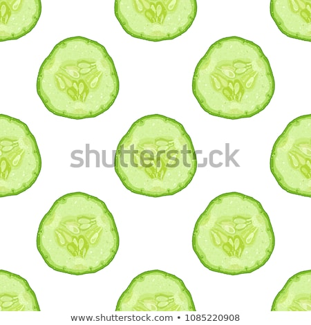 Salatalık vektör pastel pembe Stok fotoğraf © Elensha