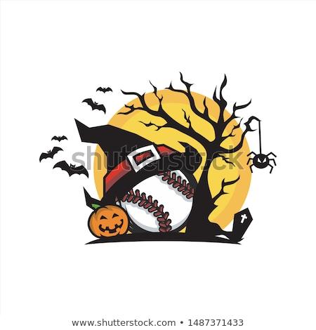 Duivel baseball sport mascotte Stockfoto © Krisdog