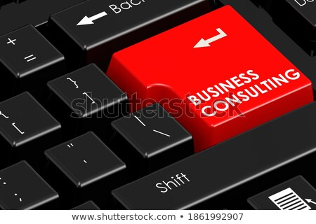 Business Consulting Key. 3D Render. Stock photo © tashatuvango