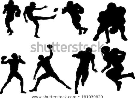 rugby · giocatore · diving · palla · uomo · sport - foto d'archivio © is2