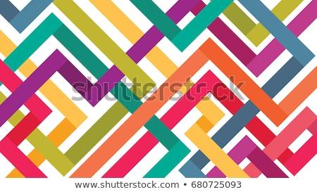 vektor · világtérkép · színes · kontinensek · atlasz · absztrakt - stock fotó © ecelop