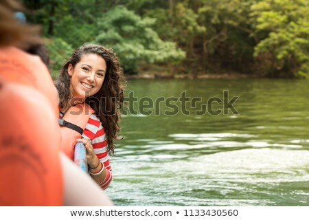 barcos · rio · belo · verão · nascer · do · sol · primavera - foto stock © thp