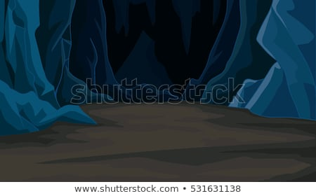 Mystery Mine Cave in Nature Stock photo © bluering