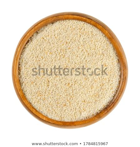 bowl of bread crumbs stock photo © digifoodstock