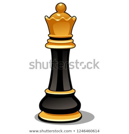 xadrez · jogo · tabuleiro · de · xadrez · ícone - foto stock © lady-luck