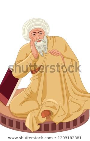 мусульманских иллюстрация медицина учитель Ислам Рисунок Сток-фото © artisticco