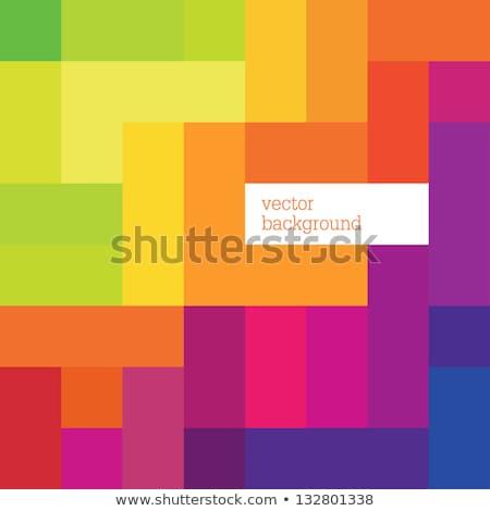 аннотация красочный квадратный вектора бизнеса дизайна Сток-фото © blaskorizov