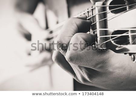 rocker · gitáros · basszus · zene · férfi · terv - stock fotó © robuart