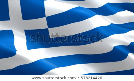ícone projeto Grécia bandeira ilustração fundo Foto stock © colematt