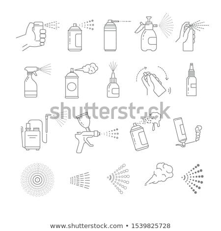 drugs · fles · vector · icon · pictogram · illustratie - stockfoto © smoki
