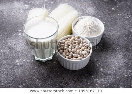 Glutensiz soya un süt fasulye Stok fotoğraf © furmanphoto