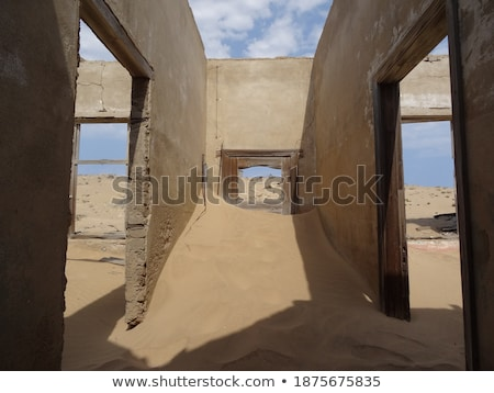 room in a deserted building namibia stock photo © emiddelkoop