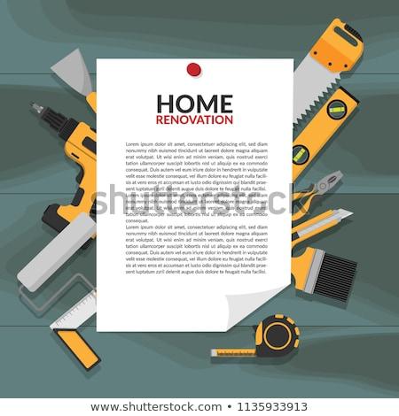 vector tool borders stock photo © dashadima