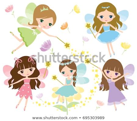 magical fairy girl Stock photo © cidepix