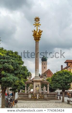 Holy Trinity Column, Straubing, Germany Stock photo © borisb17