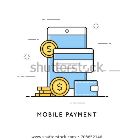 支払い 送金 金融 サービス オンラインショッピング 簡単 ストックフォト © RAStudio