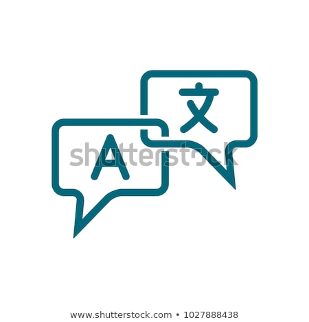 Language translation concept vector illustration. Stock photo © RAStudio