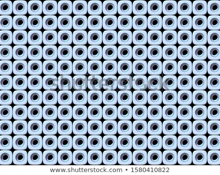 Abstract geometric four pastel color Holes background 3D Stock photo © djmilic