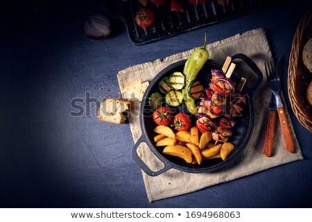 Quibe legumes tempero país batatas Foto stock © Dar1930