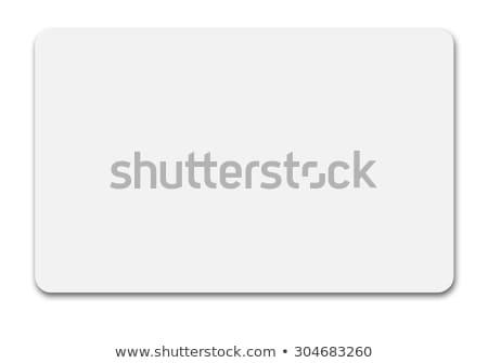 プラスチック カード 黒 ボックス 白 革 ストックフォト © magraphics
