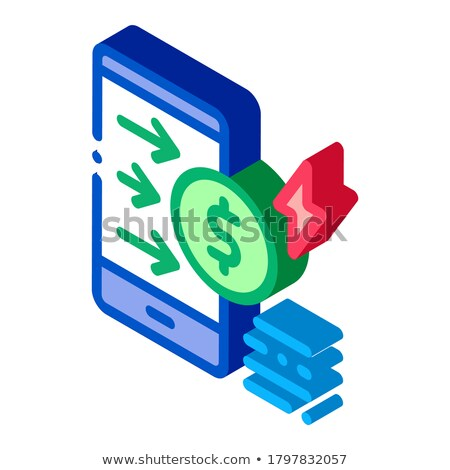 Padlock Site Coding System isometric icon vector illustration Stock photo © pikepicture